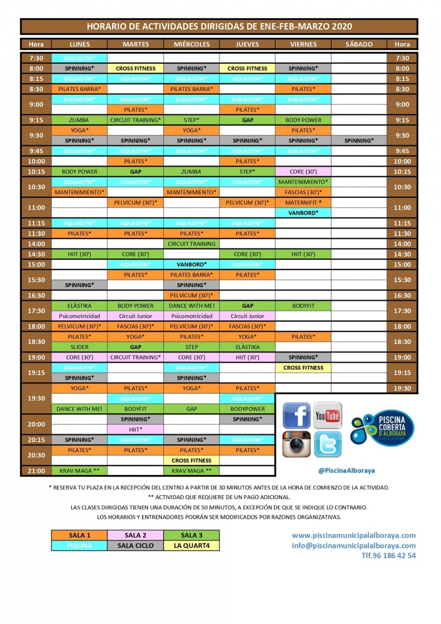 HORARIO DE AADD ENE-FEB-MAR